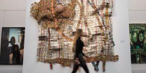 African Art El Anatsui Sotheby's