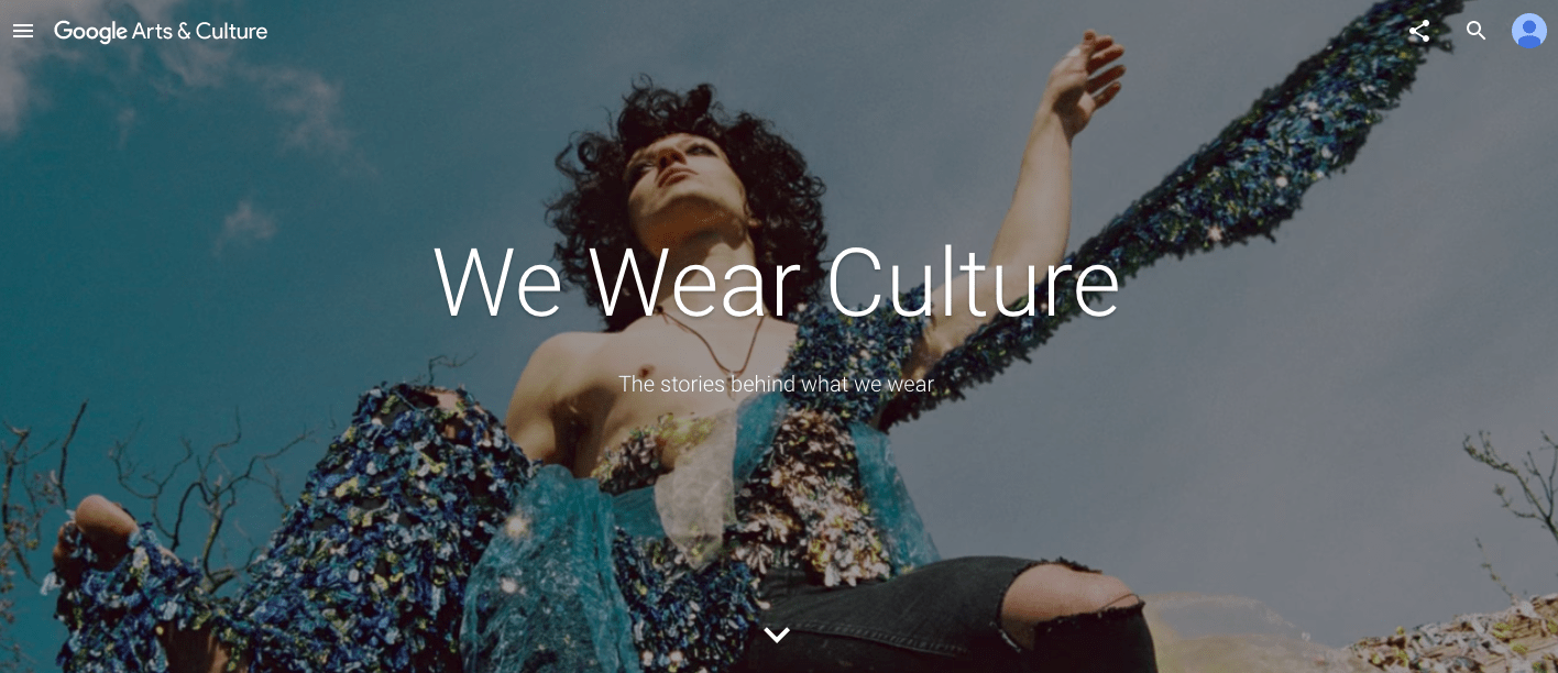 We Wear Culture, Google
