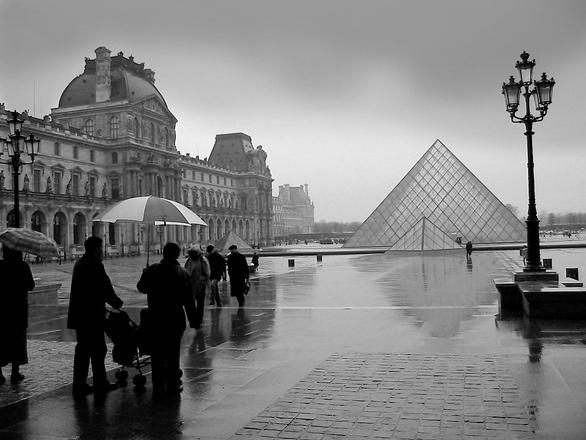 Louvre intempéries juillet 2017