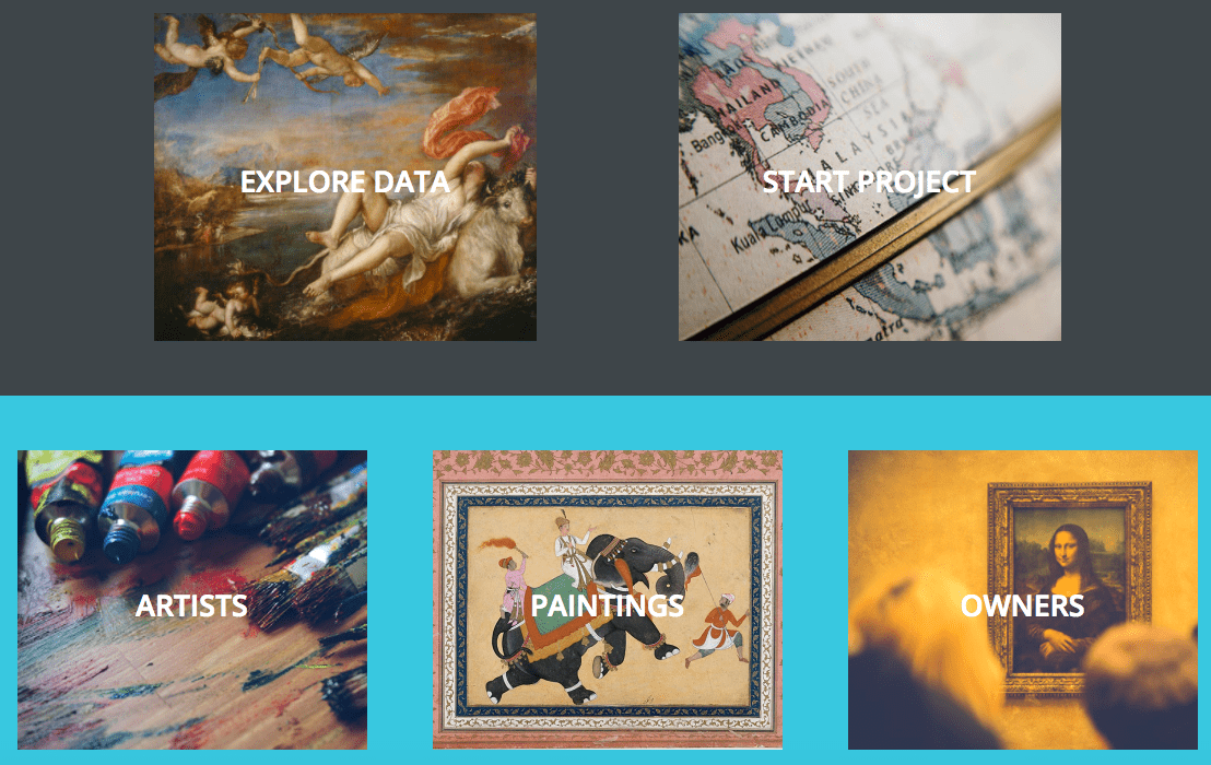 Mapping Paintings Homepage