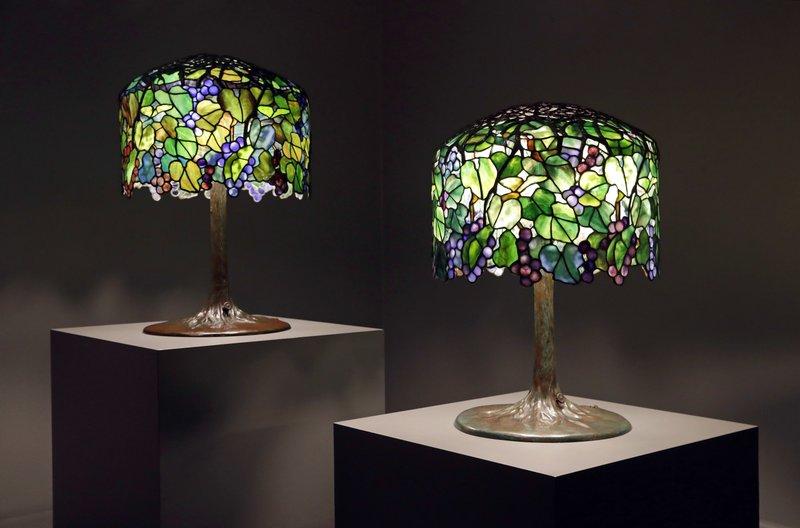 Lampes Tiffany authentique contrefaçon