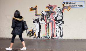Banksy, Basquiat, Barbican
