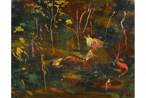 churchill painting
