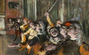 Degas Choristes retrouvé