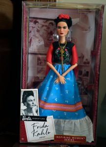 Frida Kahlo Barbie Doll by Mattel