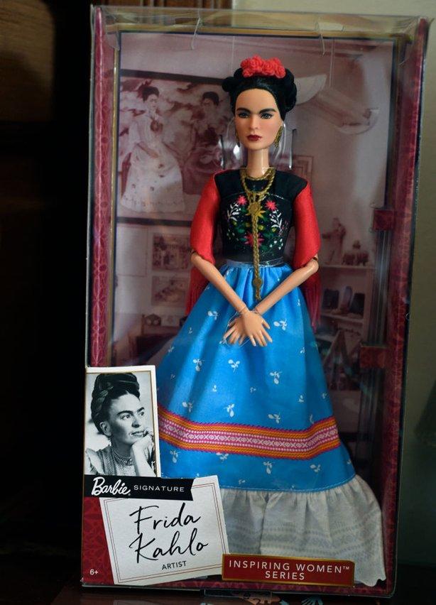 Frida Kahlo Barbie Doll by Mattel