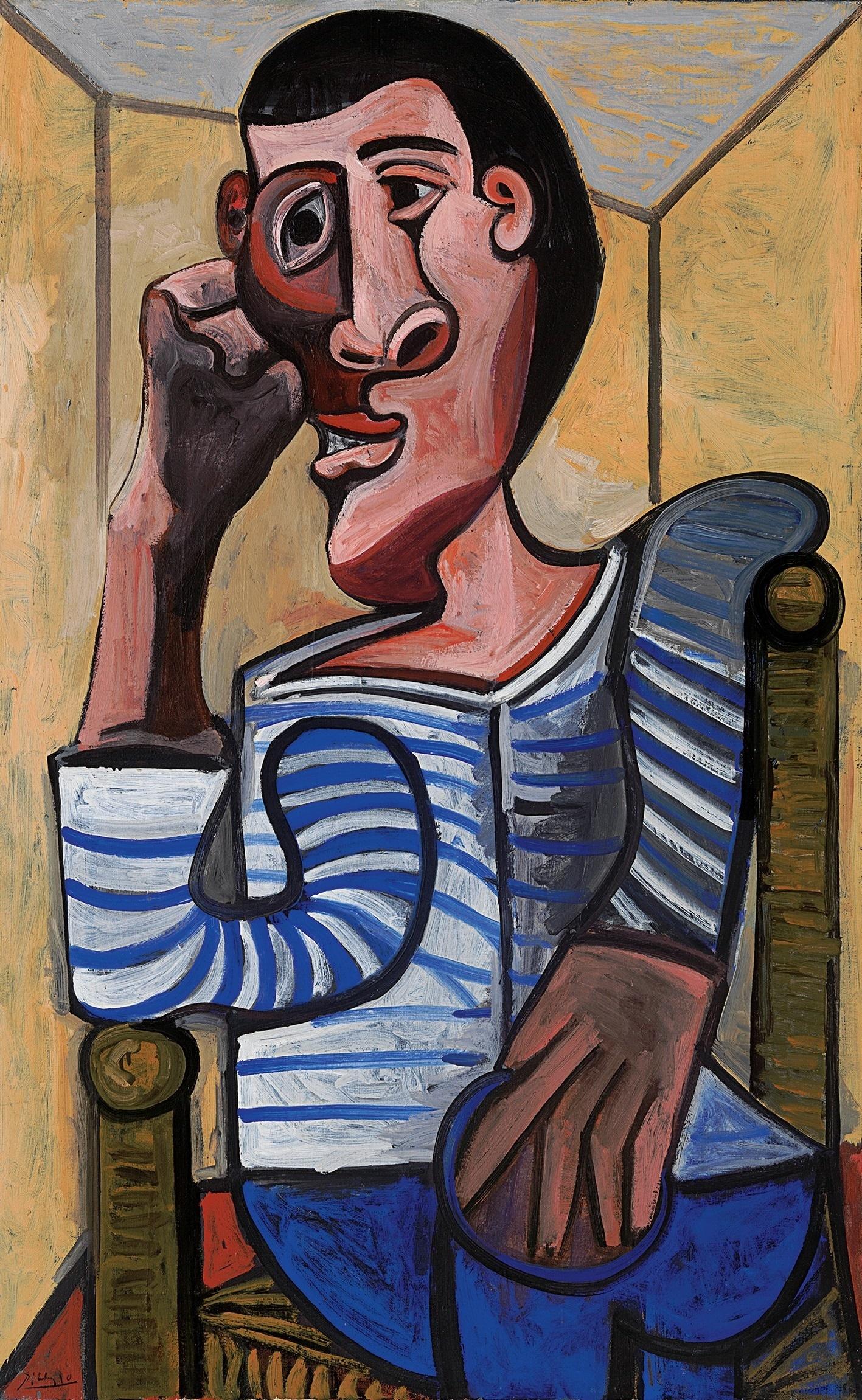 Pablo Picasso le Marin, 1943