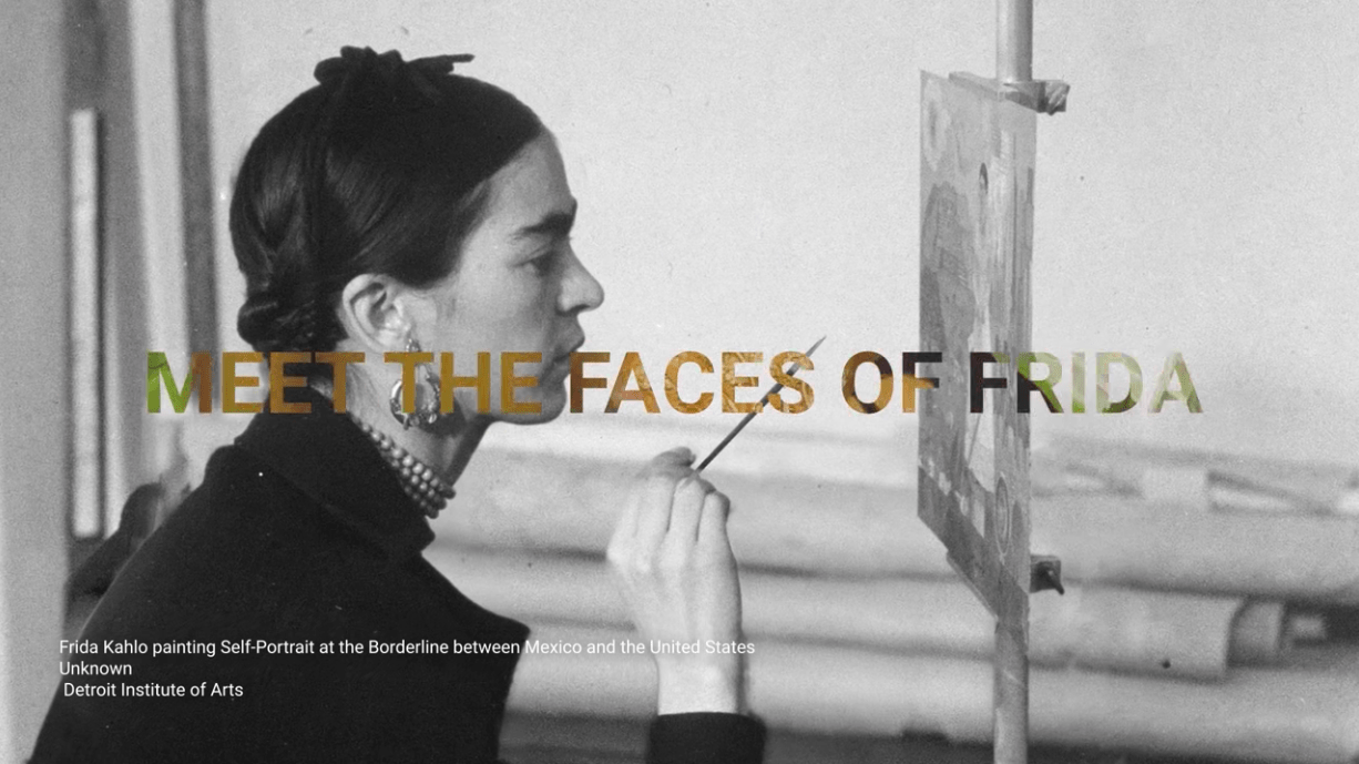 Faces of Frida