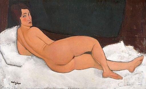 Modigliani Nu couché Sotheby's