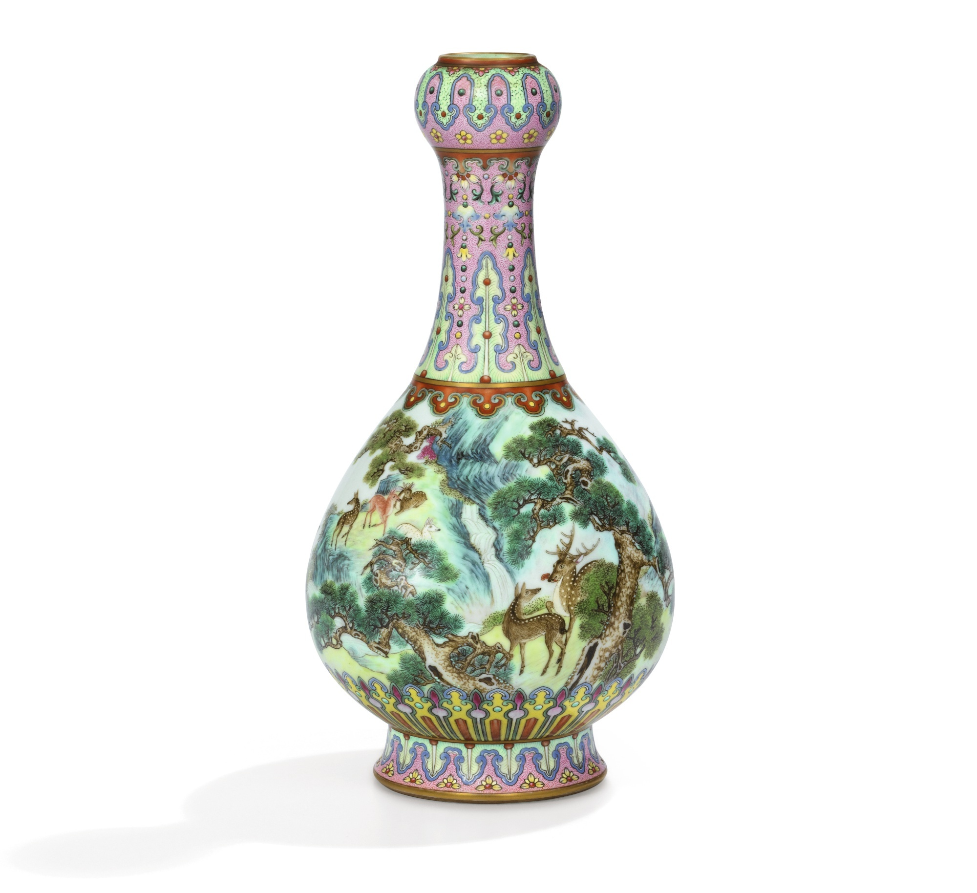 Vase chinois impérial Sotheby's
