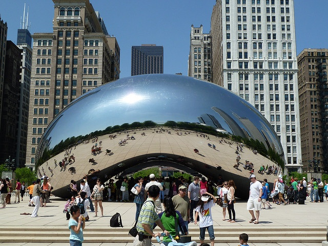 Kapoor Cloud Gate