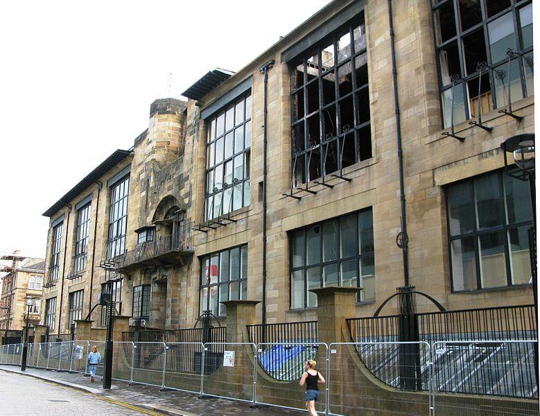 Glasgow Ecole d'Art Mackintosh
