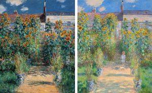 Monet Vétheuil garden jardin