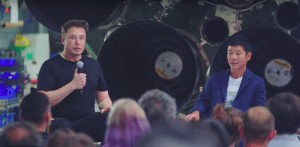 SpaceX Moon Maezawa