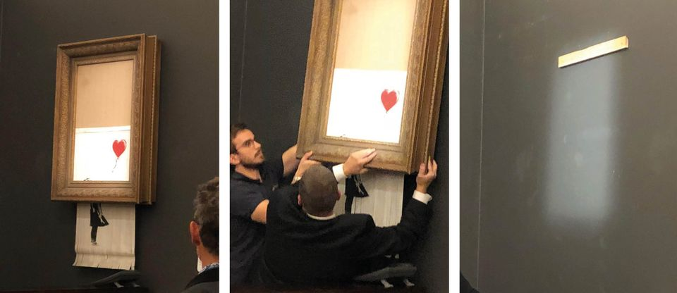 Banksy shredded sotheby's