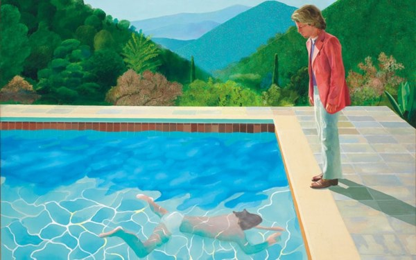 Christie's Hockney Swimming pool