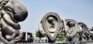Damien HIrst Sidra Uterus Sculpture