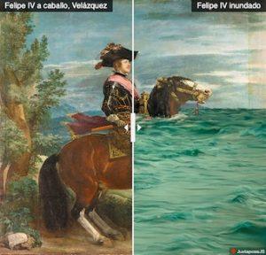 Felipe IV at the Prado, WWF