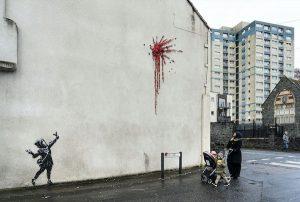 Banksy Bristol Valentine