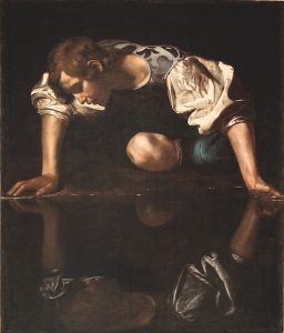 Caravaggio, Narcissus, Bernini, Amsterdam, Rijksmuseum